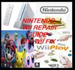 Thumbnail Nintendo wii repair guide. Wii DIY fix.Wii console.