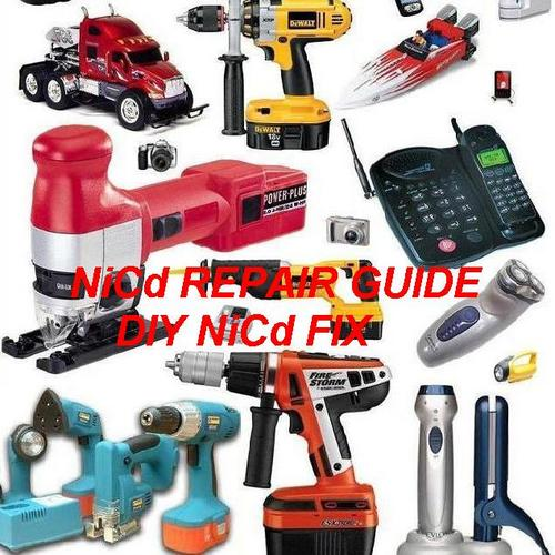 Product picture nicd diy repair guide, Acer NiCd battery fix