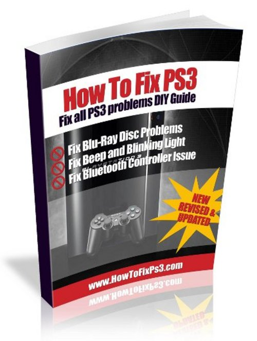 Product picture How to fix Sony Playstation 3 Yellow light of Death